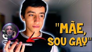 DISSE À MINHA MÃE QUE ERA GAY! - Perguntas  & Respostas #8