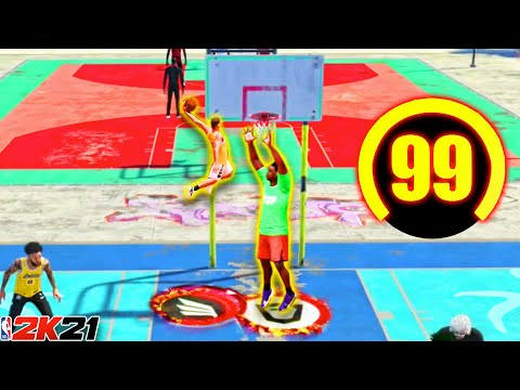 I made the FIRST 99 OVERALL 5'7 SLASHER in NBA 2K21 and couldn't be stopped...