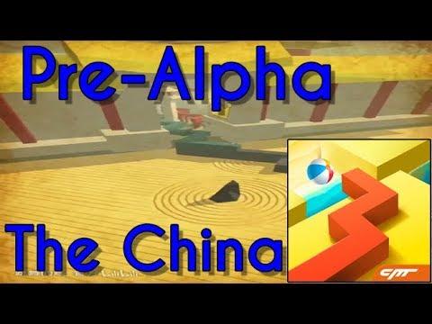 Dancing Line Pre-Alpha: The China [Comparison]