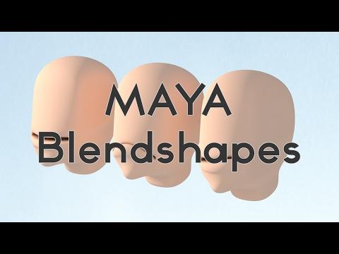 Maya blend shape