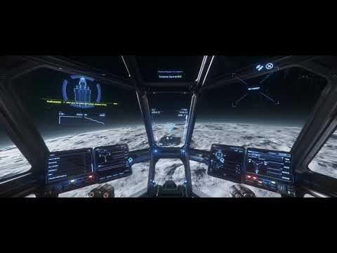 star citizen 3.5 - basic starter ship gameplay! aurora MR waste disposal and liquor run!