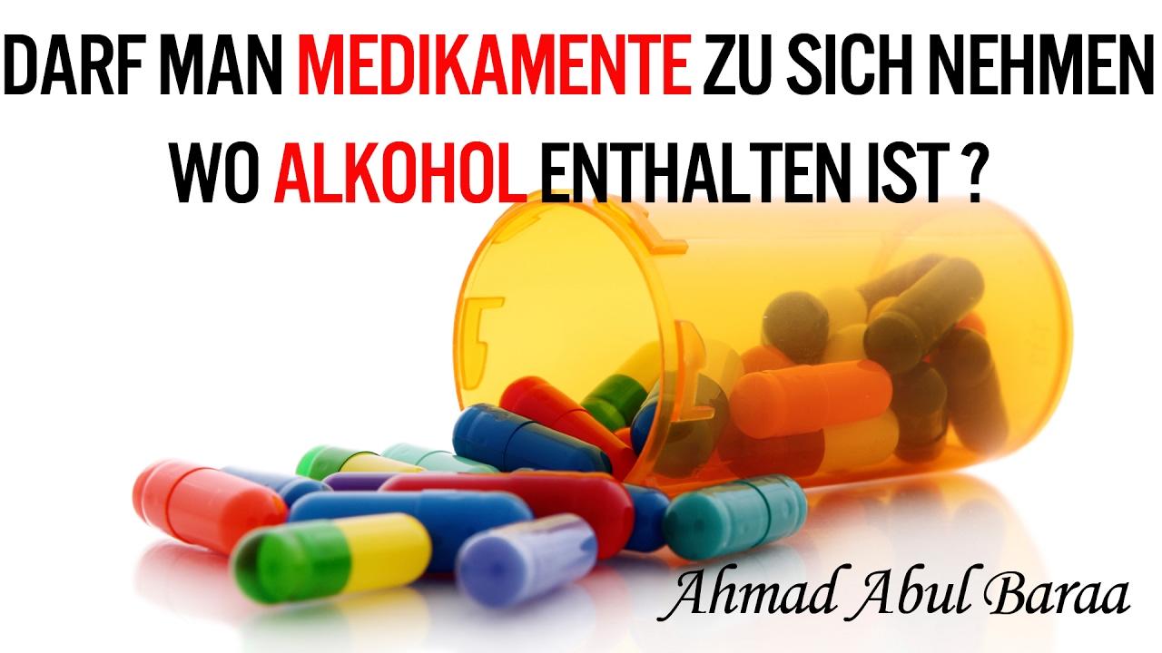 ahmad abul baraa darf man medikamente zu sich nehmen wo alkohol enthalten ist youtube. Black Bedroom Furniture Sets. Home Design Ideas