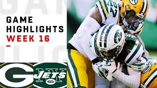 Packers vs. Jets Week 16 Highlights