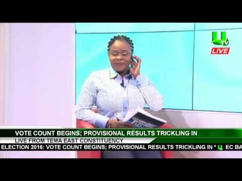 Latest Election 2016 Polling Station Provisional Result From Across Ghana