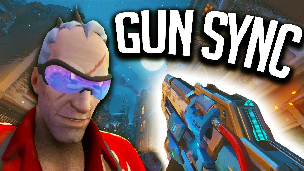 Overwatch Gun Sync The Score Revolution YouTube