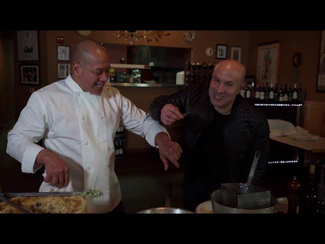 Food, Magic & LOVE! Chef Rudy cooks Pasta, Seth eats it!