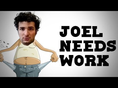 JOEL NEEDS A JOB? - Dude Soup Podcast #133