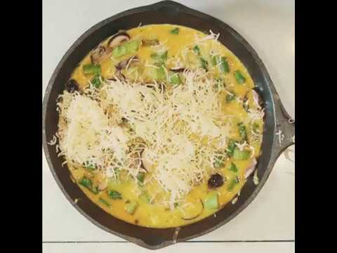 Leek and Asparagus Frittata Recipe