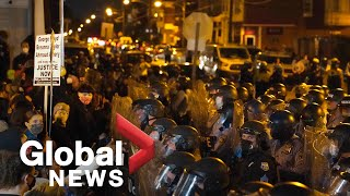 Protests continue in Philadelphia for a 2nd night after fatal police shooting