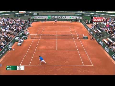Roland Garros 2015 - Thomaz Bellucci x Marinko Matosevic
