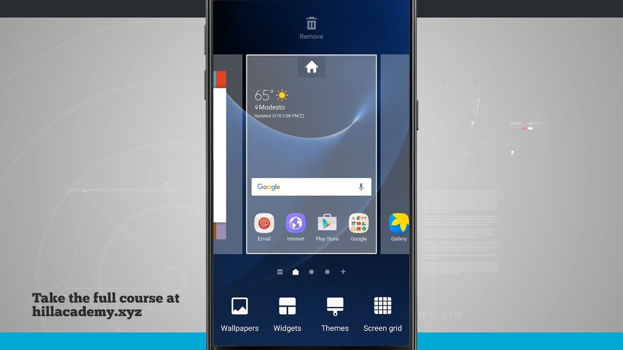 Galaxy S7 Quick Tips Customizing the Home Screen