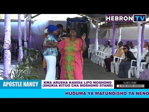 Apostle Nancy Akiwafungua Wagojwa Kutoka Kwenye Vifungo Mbalimbali