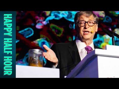 Bill Gates' Presentation Featuring POOP