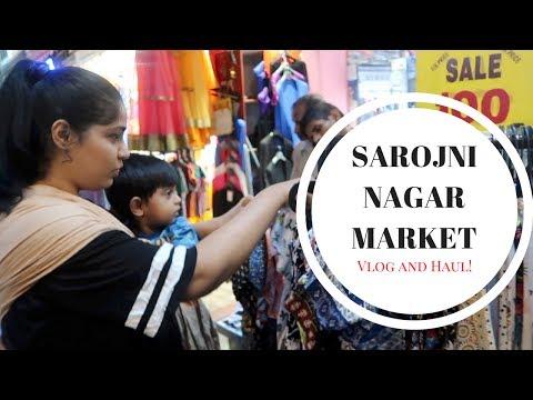 Sarojini Nagar Market Vlog and Plus Size Haul 2017 | Indian Mommy Vlogging channel