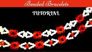 Jewelry making tutorial. Beginner beading tutorial. beaded bracelets