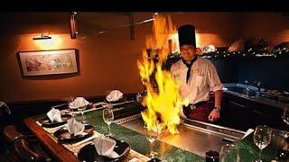 В плену у якудза в США. Японский ресторан хибачи США.