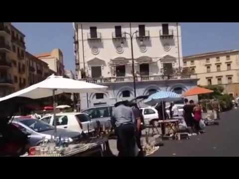 Flea marketing a Palermo