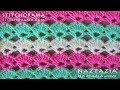 Crochet Shell Stitch 001 - Stitchorama by Naztazia
