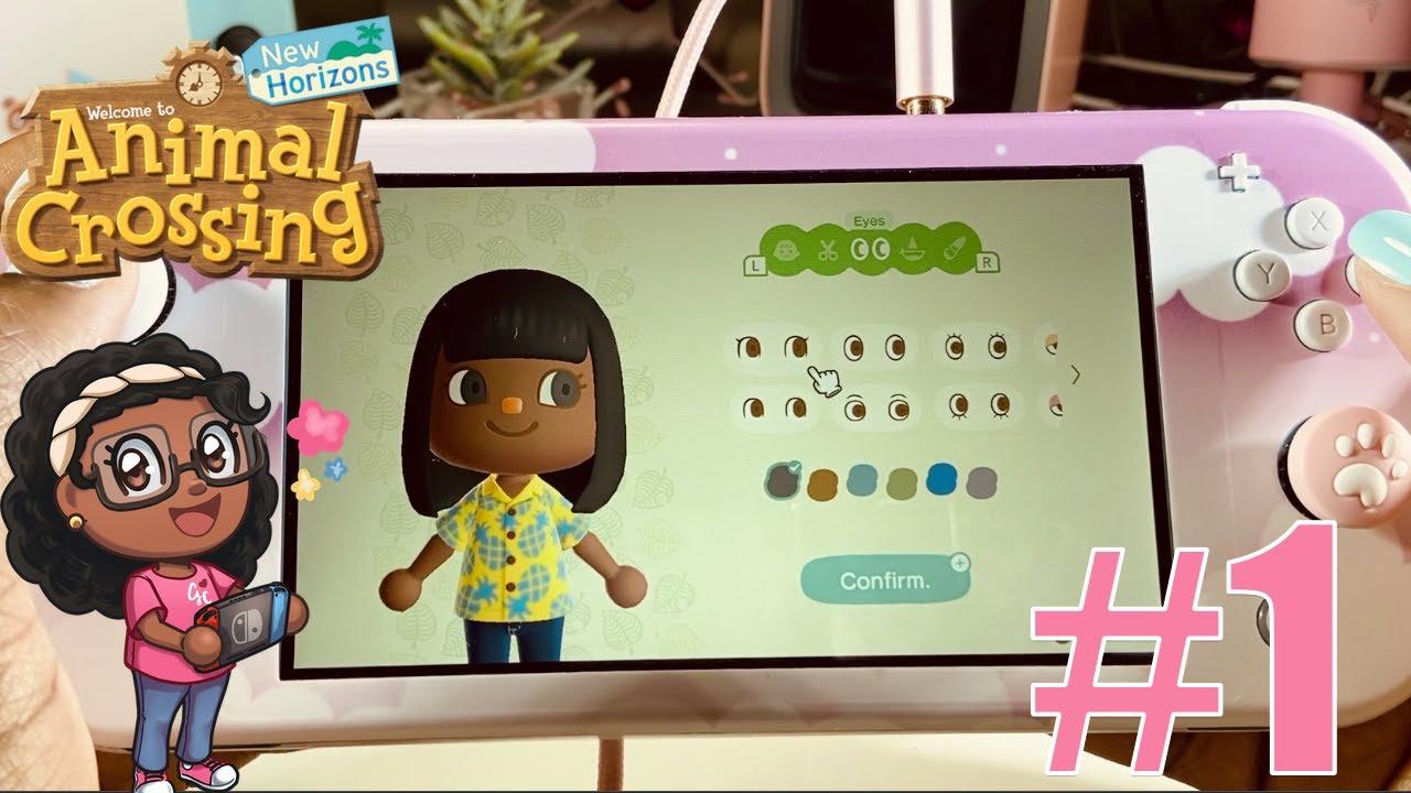 Animal Crossing New Horizons Nintendo Switch Lite Gameplay Youtube