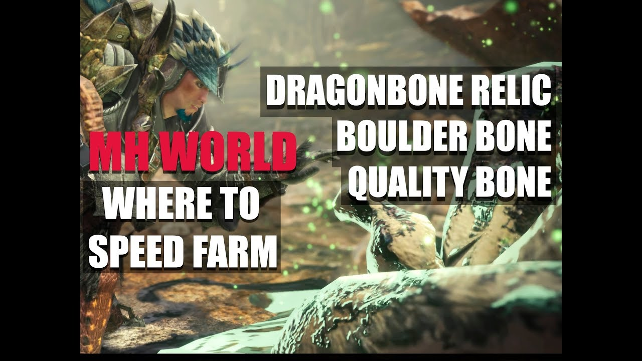 Monster Hunter World Boulder Bone
