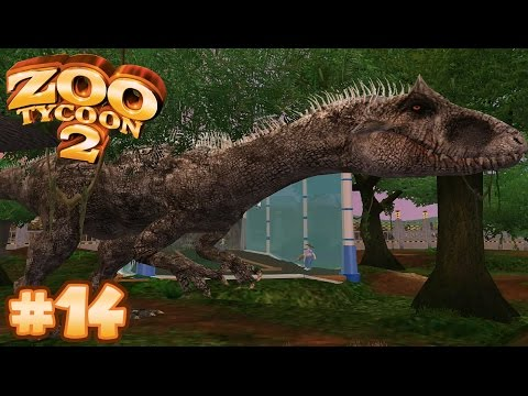 Jurassic Park T Rex Paddock Zoo Tycoon 2 Let S Play