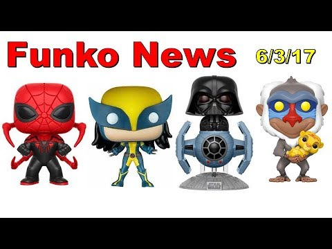 Funko News - June 3, 2017 (GIveaway Closed)