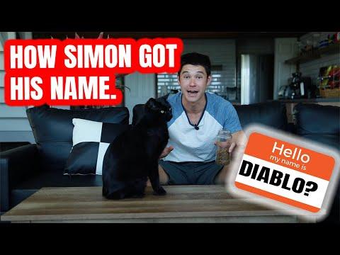HOW SIMON GOT HIS NAME!