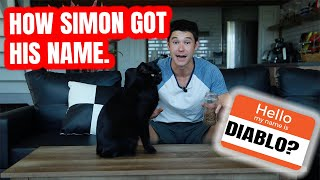 HOW SIMON GOT HIS NAME!