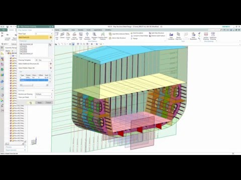 Siemens NX - Ship Structure
