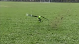 BEST RC HELICOPTER CRASH COMPILATION T Rex Logo xxtreme 800 Gaui Align Goblin TDR