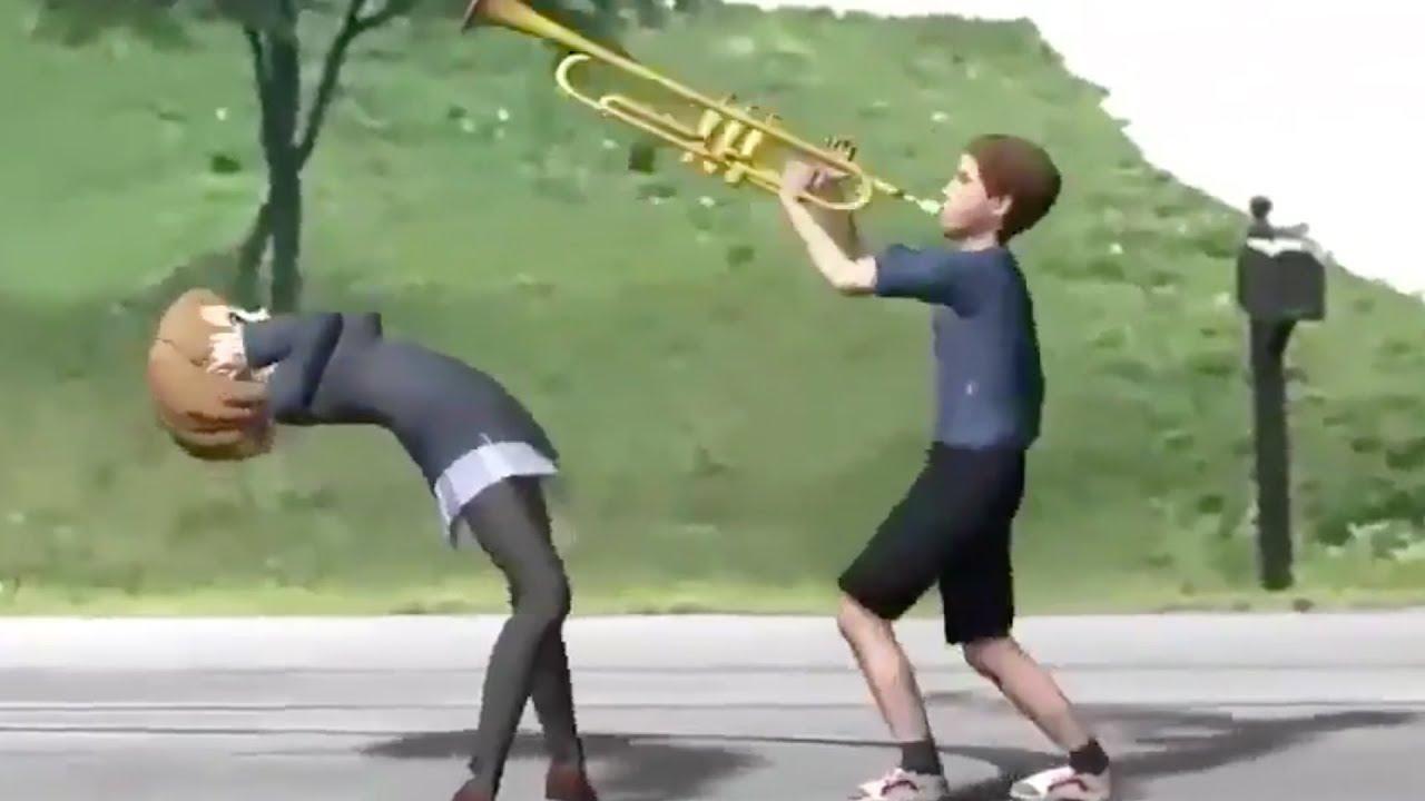Attack On Titan Trumpet Theme Song Dank Meme