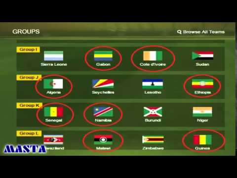 African Cup of Nations 2017  | Groups and MY predictions. | HD
