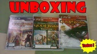 Unboxing God Of War Total ! [PT-Br] - PS3