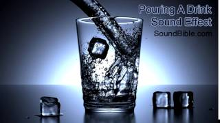 Pouring A Drink Sound Effect