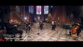 Mozart Klarinettenquintett Live on Christmas Eve