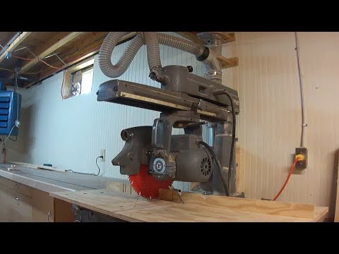 How To Use The Radial Arm Saw
