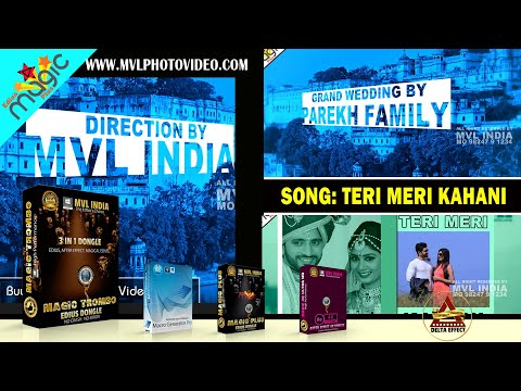 EDIUS WEDDING SONG PROJECT // TERI MERI KAHANI // EDIUS 7 // EDIUS 8 // EDIUS 9