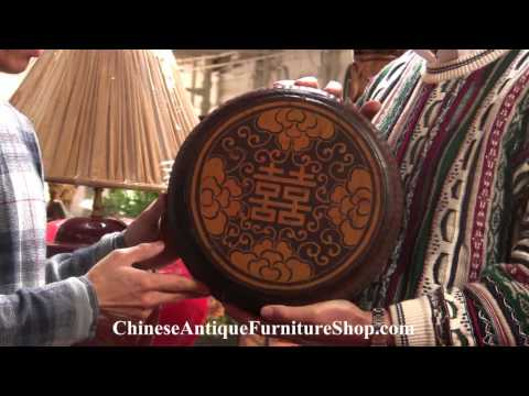 Chinese Antique Furniture Video #7 Symbols - Animals and Chinese Characters