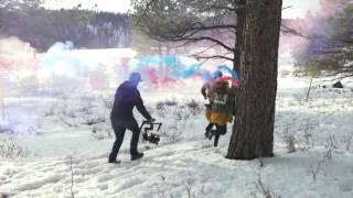 Atomos Shogun Flame & Ninja Flame  в работе