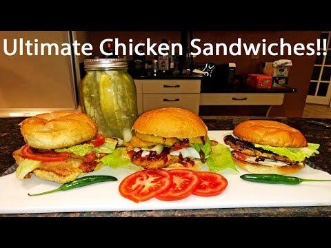 Ultimate Chicken Sandwiches