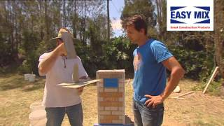 Easy-mix Diy Brick Letterbox: Stage Three (3/4)