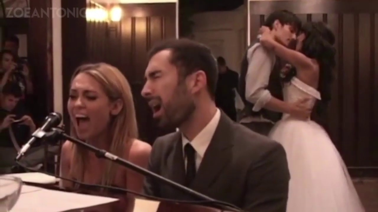 Miley Cyrus Sings When I Look At You At Best Friends Wedding Youtube