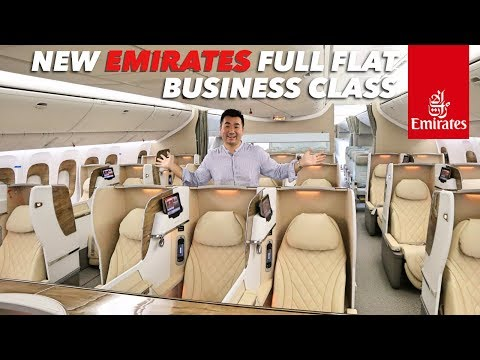 Emirates B777 NEW BUSINESS and ECONOMY CLASS