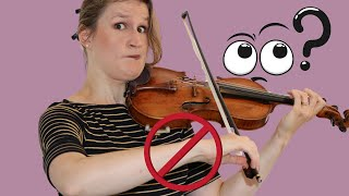 Arm Hold in Violin Bowing: do you deserve a slap on the wrist?