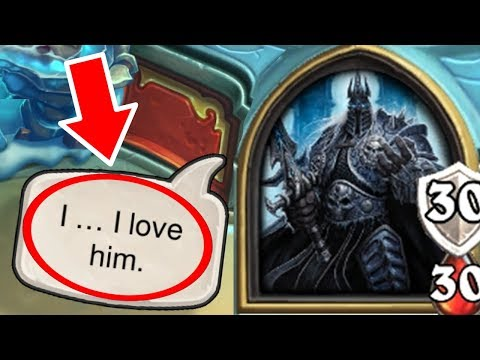 Thumbnail: [Hearthstone] 19 SECRET INTERACTIONS in The Lich King Boss Fight | Knights of the Frozen Throne