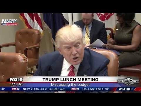 WATCH: President Trump Federal Budget Plan Discussion At White House (FNN)