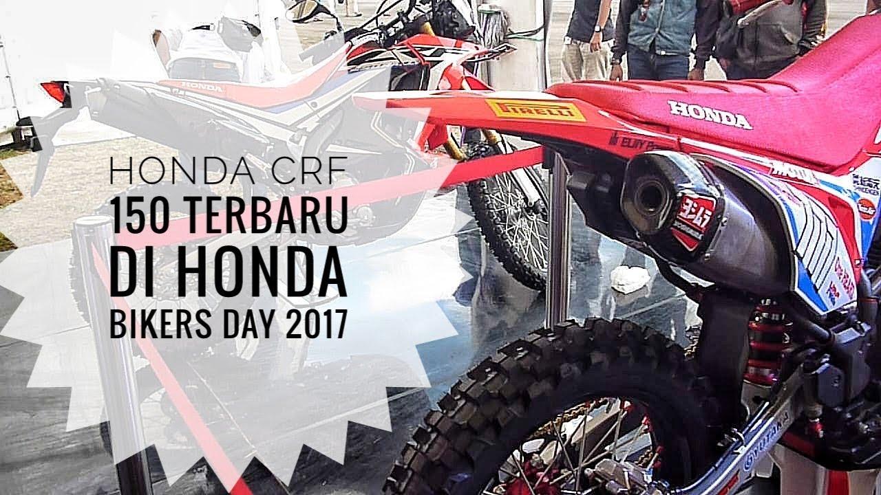 BOCOR Tampilan Calon Honda CRF 150 L Terbaru Di Honda Bikers Day