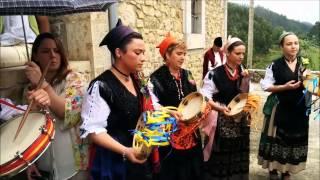 El ramu. Fiesta de San Pedro 2014. Santa Eulalia de Carranzo (Asturias)