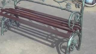 Video banco de jardín de forja artistica hecho por los artesanos Hijos de Alejandro Tofe en Zarratón download MP3, 3GP, MP4, WEBM, AVI, FLV Juli 2018