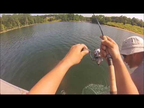 FISHING MERRILL CREEK RESERVOIR NEW JERSEY. UNBELIEVABLE DAY